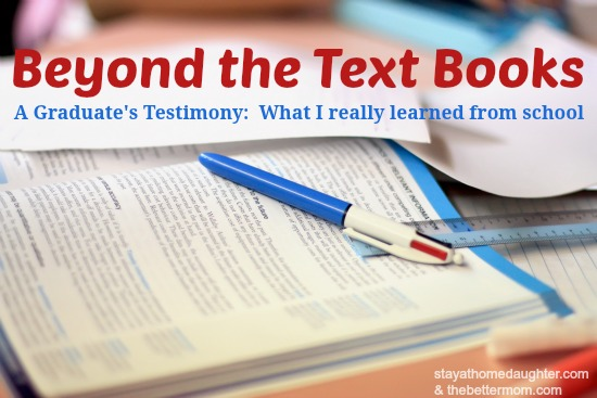beyond the text books