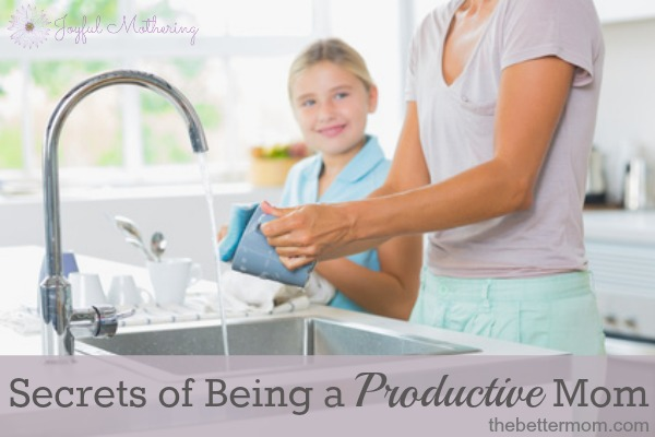 7 Secrets of a Productive Mom