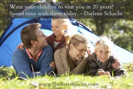 The One Piece of Advice for Every Parent ~www.thebettermom.com (NOT a bad link)