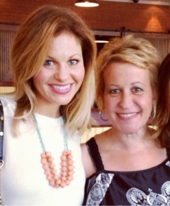 Candace Cameron Bure and her sister Bridgette