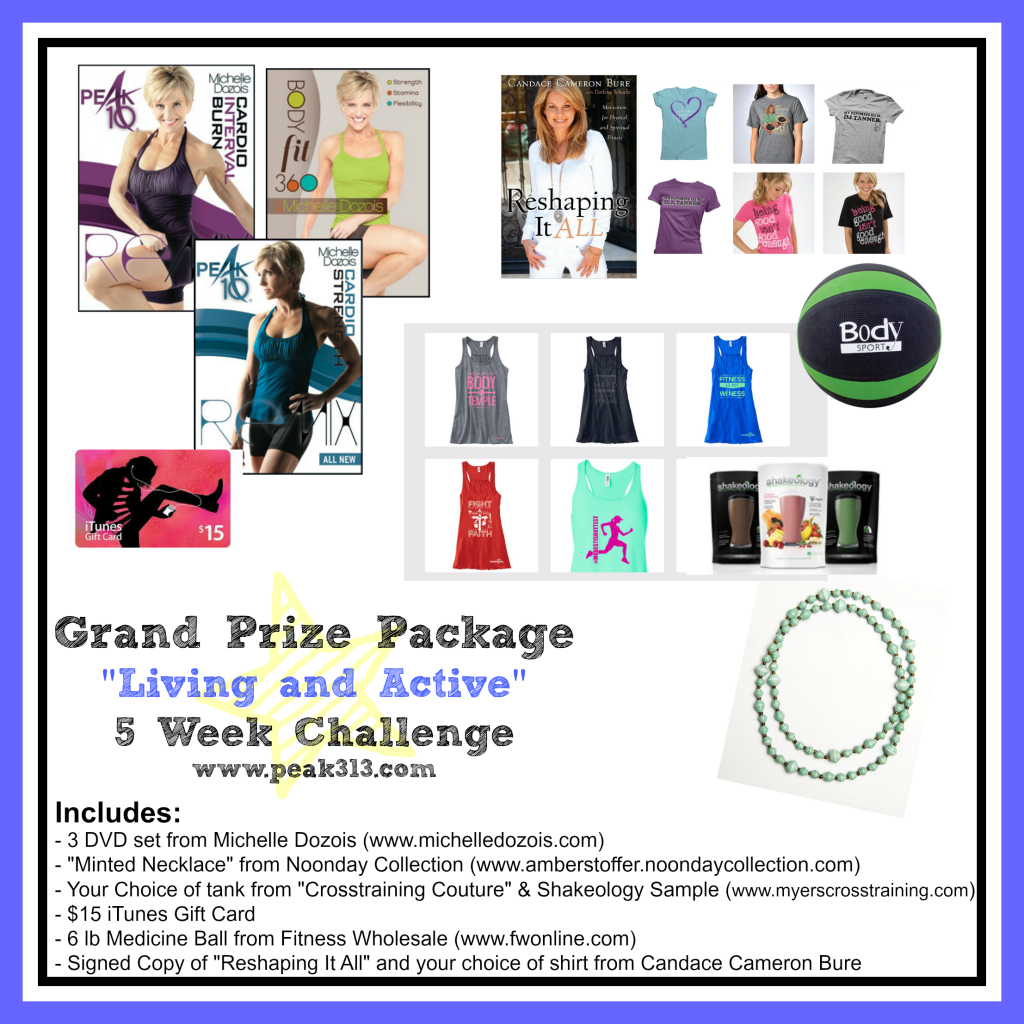 """Living and Active"" Grand Prize Package! 