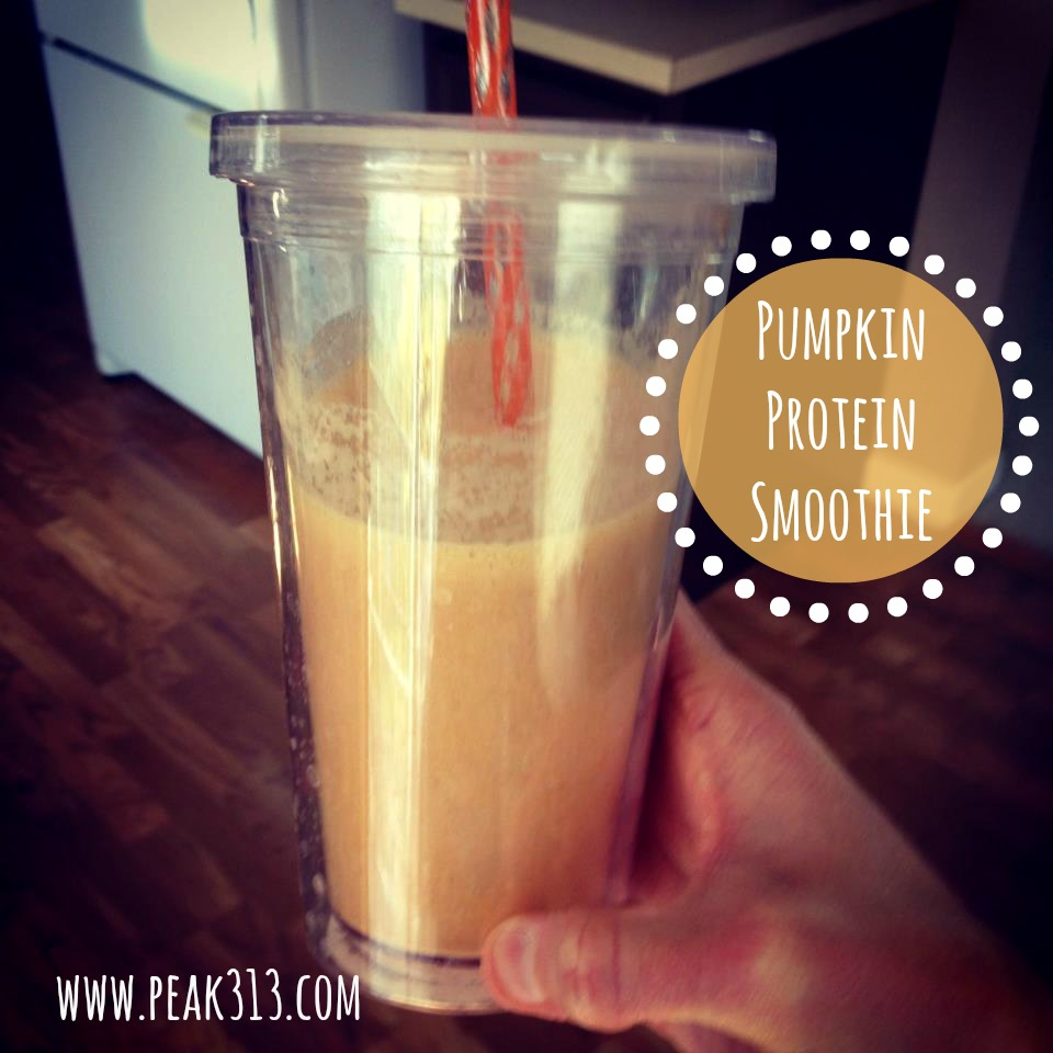 Pumpkin Protein Smoothie | peak313.com