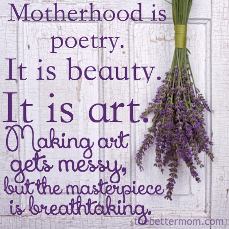 Motherhood is Art