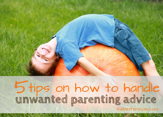tips for handling parentingadvice