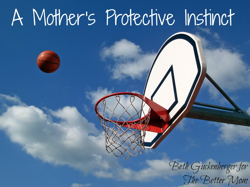A Mother's Protective Instinct