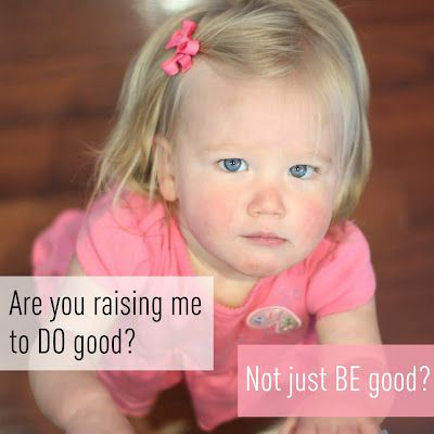 Are you raising your children to do good?