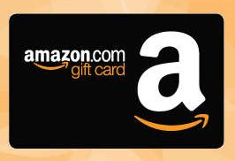 Gift card to Amazon