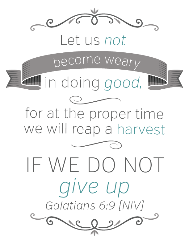 Galatians Verse Printable