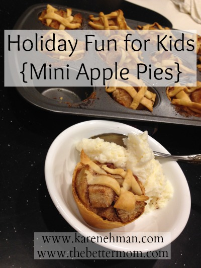 Holiday Fun for Kids {Mini Apple Pies}