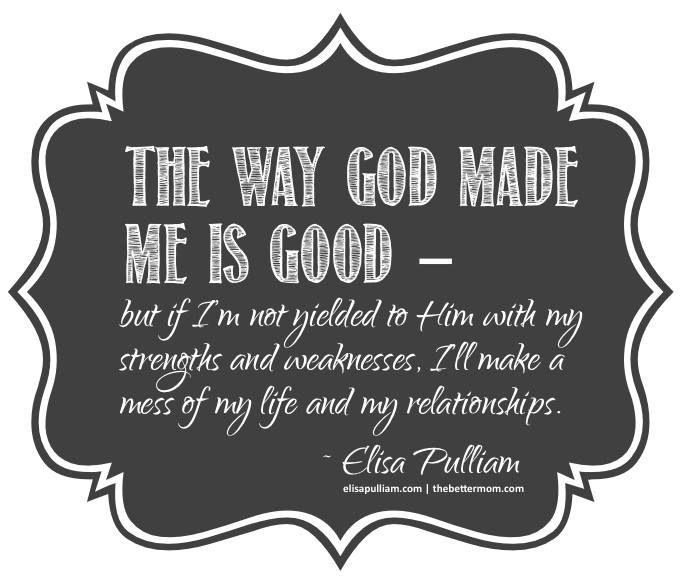 The Way God Made Me is Good