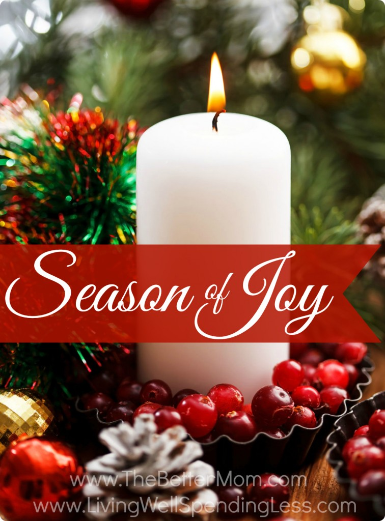 How to Find Joy This Season--practical tips for finding hope & joy in the holidays, even in the midst of heartbreak.