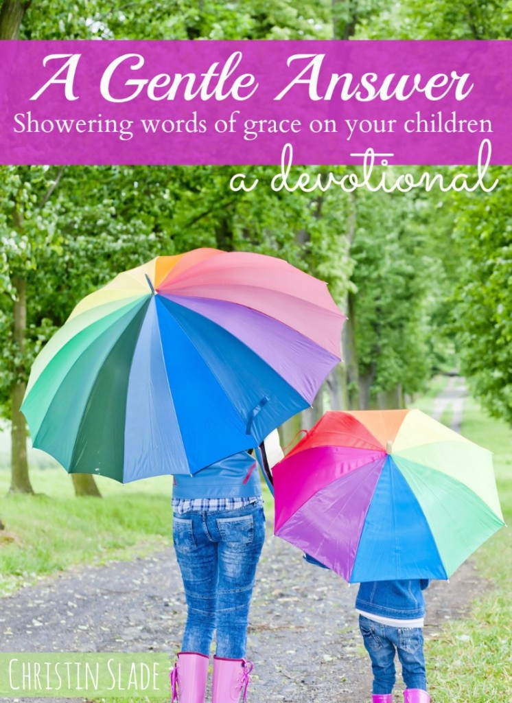 A Gentle Answer - devotional for moms