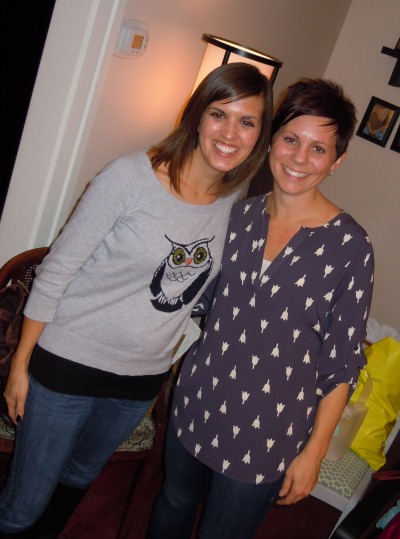 Abby and Cassandra