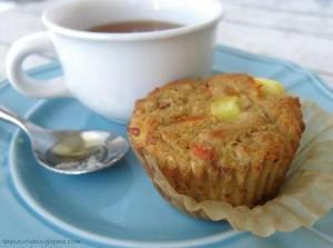 Morning Glory Muffins Close Up