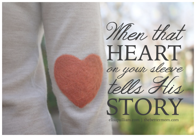 When that Heart Tells His Story
