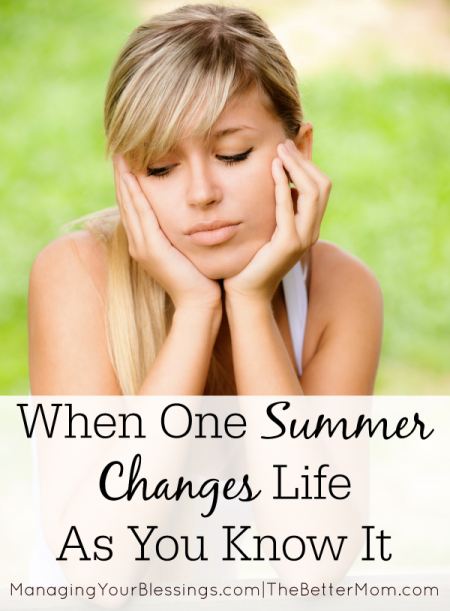 When One Summer Changes Life As You Know It