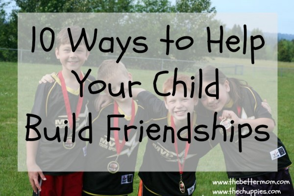 child build friendship