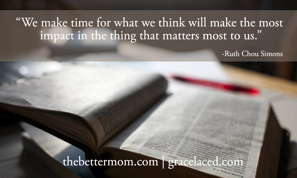 We make time