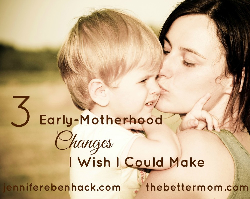 3 Early-Motherhood Changes