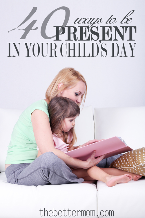 "Do you think of your children as ""tasks"" or hearts?"" It's easy to want to cross everything off our daily to-do list. Sometimes we need to consider how our children feel when Mom is busy and distracted.  How often are your children present, but abandoned, in your day?"