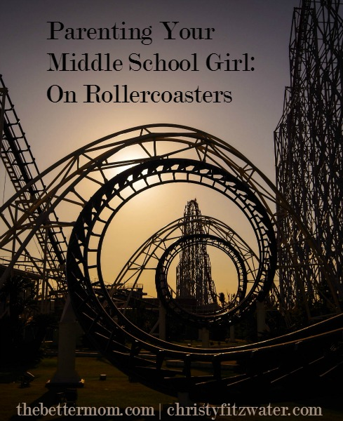Do you have a roller coaster teenager at your house? If you've strapped in for the ride these years brings, we have some great encouragement for you today!