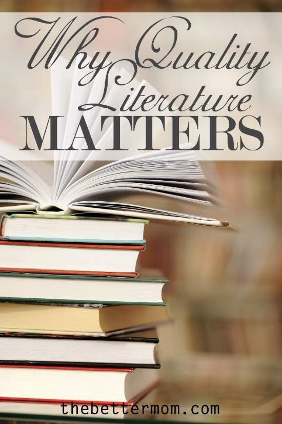 why literature matters Why reading great literature matters i know that about half of you,  when you heard the word 'speech', drifted off i'm inviting you to.