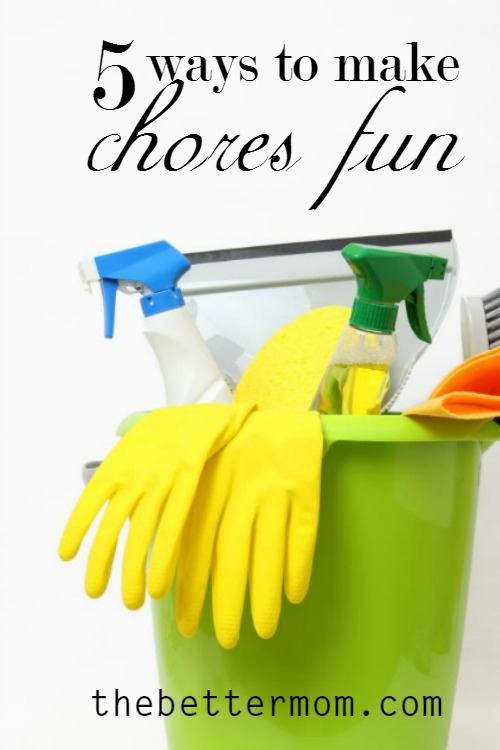 How are chores going over at your house today? Spring cleaning is here and we have some fun ideas to make your work fun and cheery!