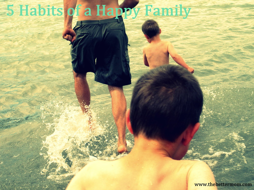 It is an incredible testimony to be a happy family. Be out of the box. Dare to live outrageously and fully! Start cultivating these 5 habits together to shine a light into our hurting world.....