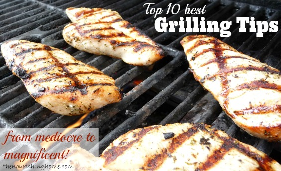 "Summer's here! Time to fire-up the Grill and enjoy flavorful and Fun Summer cookouts. With these ""top 10 Best Grilling Tips"" and our summer grilling meal plans, you'll discover the secret to easy, healthy meals the whole family will love!"