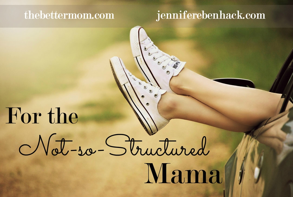 Are you a type-B mom, not easily ruffled when things don't work out as planned because you never really had a plan in the first place? Your flexibility is a gift! But, like everyone, there is always something new to learn. Ready to grow?