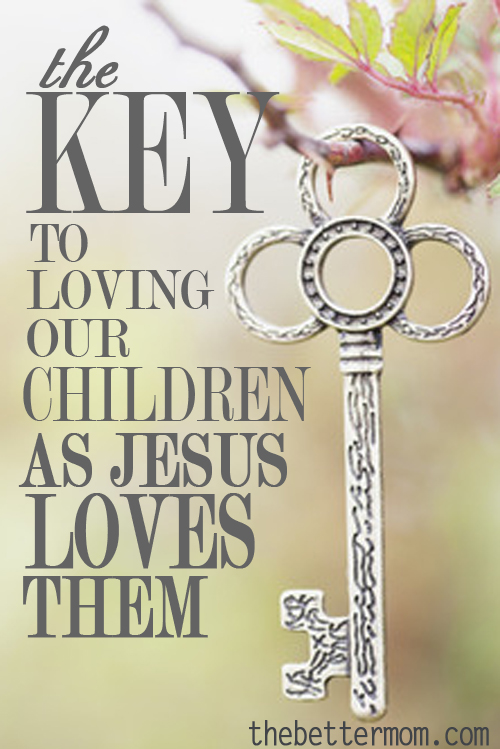 Do you know the deep love of Jesus? Moms, he cares for us and delights in us All the time, not just when we are obedient or holding it all together. Experiencing his love his the key to loving our children well. Here's how you can pour out authentic, transforming love to your kids by coming to the well of Christ first.
