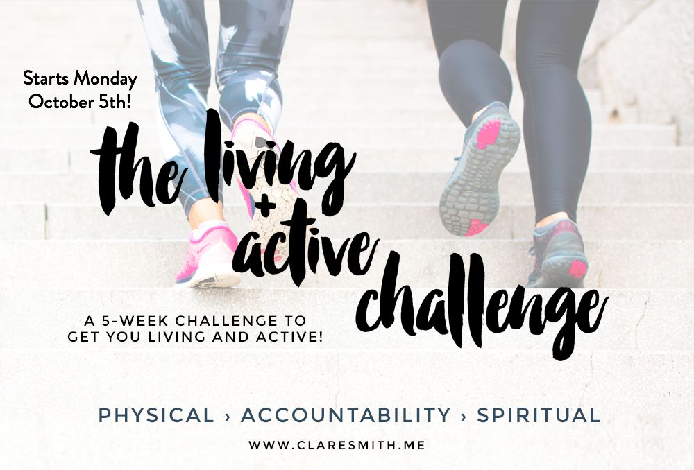 Let's be honest, the disciplines of exercise and scripture memorization are tough. That's why we're so exited to introduce you to an annual challenge that motivates, encourages and connects you with others on a journey to health. Let's get started!