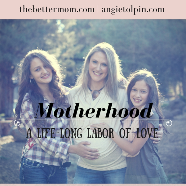 Being a mom may begin with a painful labor, but it doesn't end there. Moms labor for a lifetime, tending to hearts and investing in souls. What do we need most for a life long labor of love? We've got your tool kit right here.