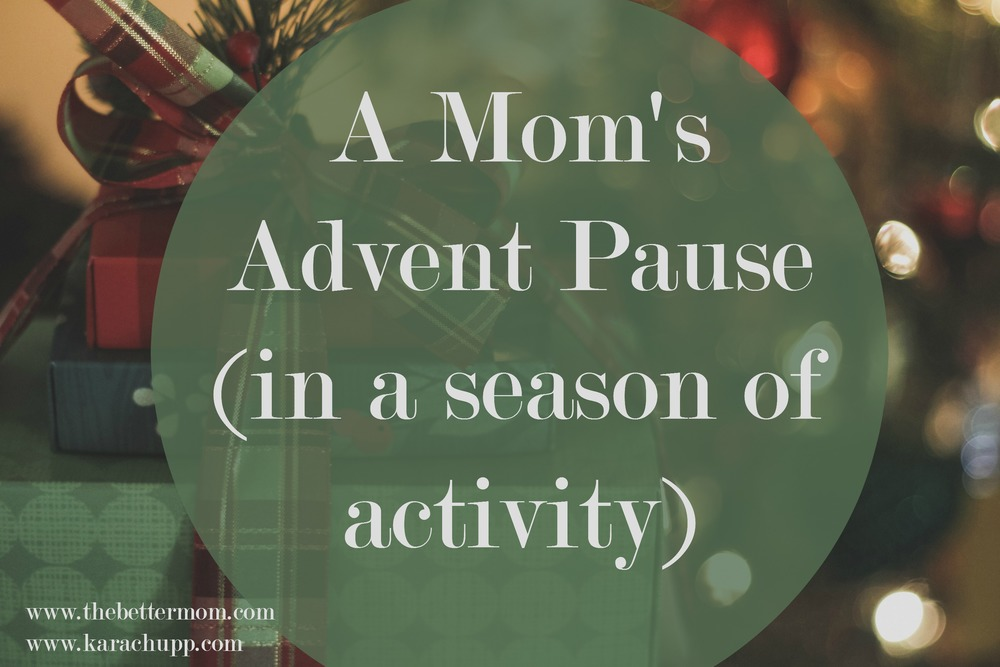 Advent is the season of waiting, but as moms, we are often too busy to anticipate anything, let alone Peace on Earth. Is your soul craving a pause in this busy season? Don't neglect the rest that Christ brings this Christmas! Join our Bible Journaling plan to embrace advent as a mama- all the details are here!