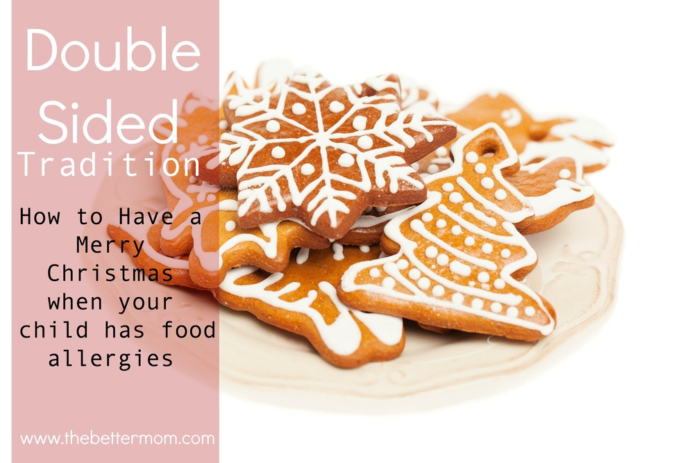 Does your child struggle with food allergies? Do you scramble each Christmas wondering how to make it special for them? How do we embrace the holidays so rich with tradition, when we have to throw our out to care for our babes? The secret lies in getting at the heart of what tradition means and how we can fully embrace it!