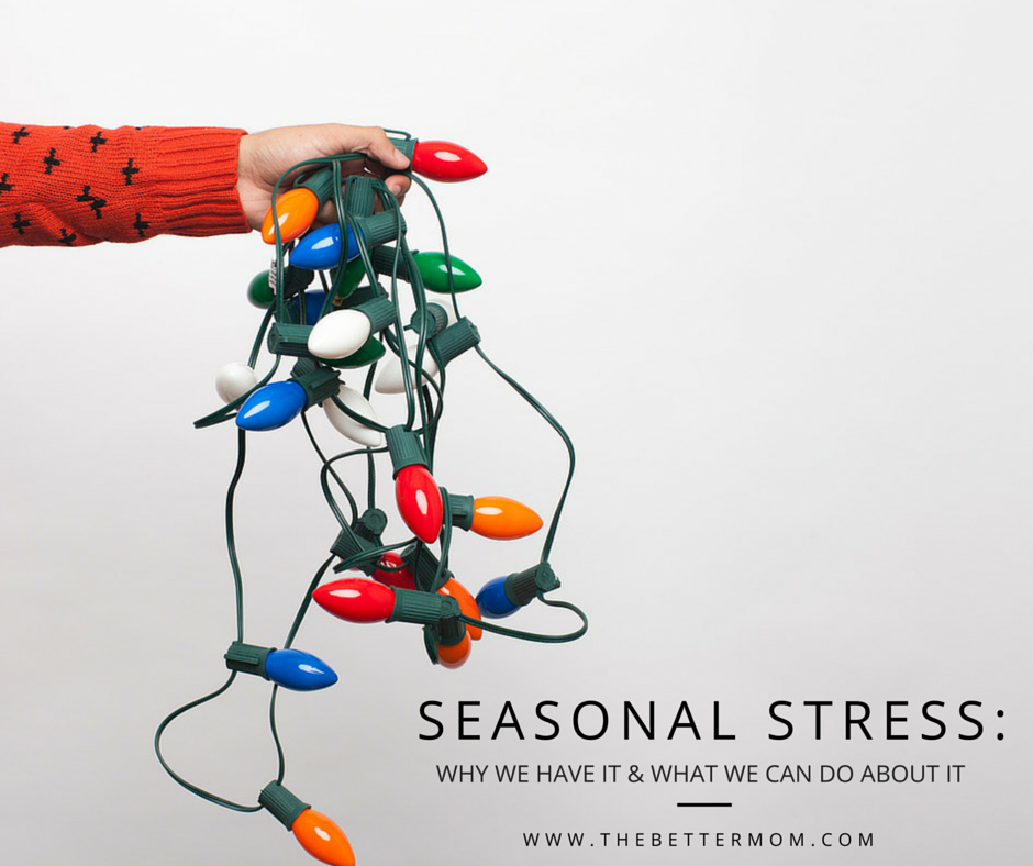 The holidays seem to scream stress! Do you find your blood pressure rising at the thought of what is to be done before Christmas? How can we combat this in our homes and our hearts? Our guide to a stress free season is here!