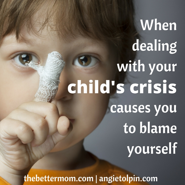 Has your child ever been in a medical crises? For most of us, we will experience the awful feeling of worry and rush to the ER at least once with our little ones, but how we choose to respond there can make all the difference to the hearts of our family members as well as our own! Are you ready to respond well?