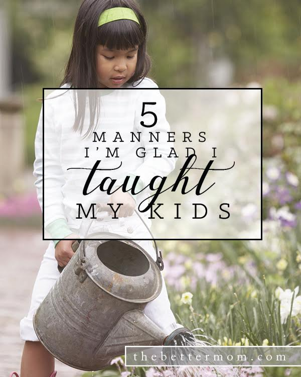 How can we teach our children to think of others first? it may be as simple as teaching them some simple manners of respect. Here are five things you can begin to teach your kids today that will help them view others as important.