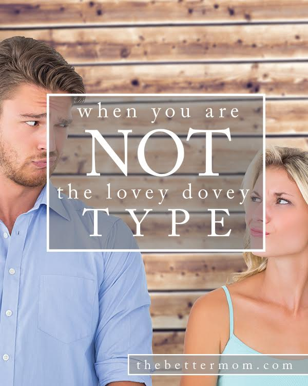 Are you a lovey-dovey wife? Many of us are not, but that doesn't mean we don't love our husbands or do all we can to make them feel special! If you fit that category, you'll love these ideas for how to show love and affection in your marriage and communicate in a way that makes your spouse feel adored.