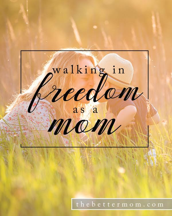 Do you believe that God walks with you as a mom? Do you tend to feel like you are never enough? Today is the perfect day to cast off voices that discourage you and walk in freedom as a mom, designed beautifully to parent the children in your home!