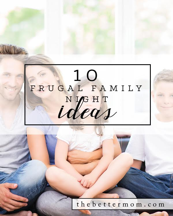 It's Friday night....what are you doing as a family?! We all need help to create meaningful family nights instead of the same activities again and again. Here are a few of our favorites you can try out with your crew this weekend.