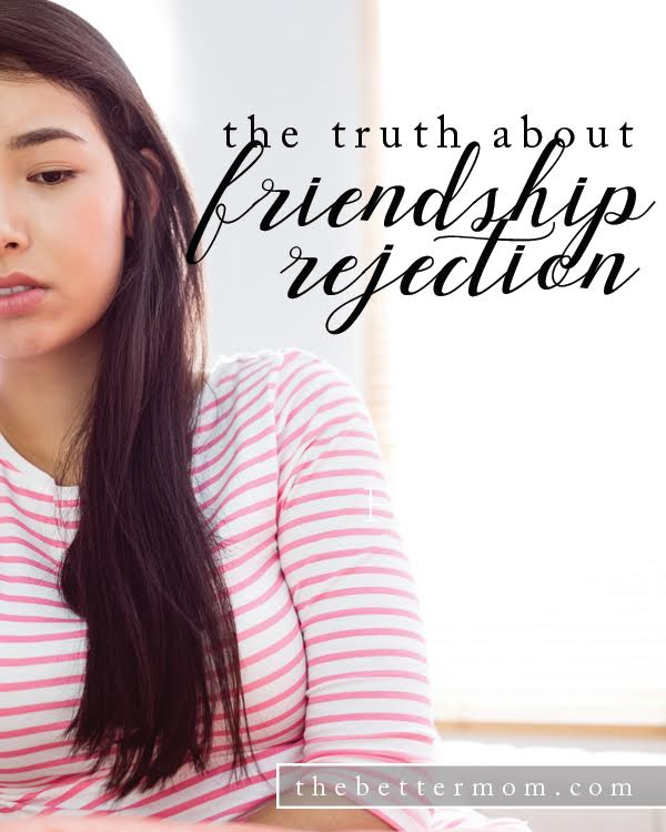 Rejection stings. No matter our age or the means through which it comes, experiencing the loss of a friend who has pulled away wounds. Here are three things to keep in mind if you've been unfriended lately.