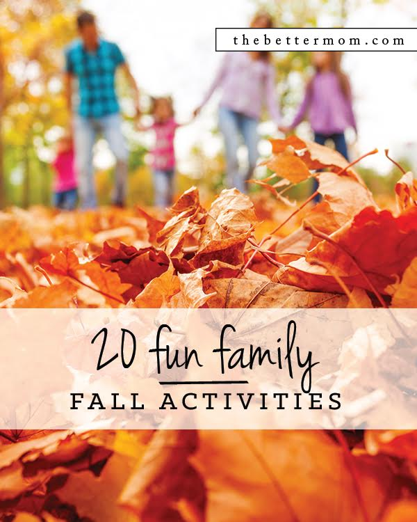 Is your family embracing the beauty of Autumn or are you looking for a few ways to enjoy the season with more intention? Here are some of our favorite activities for families to connect together this Fall!