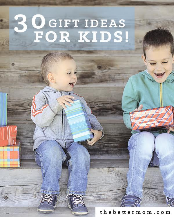 Its beginning to look a lot like Christmas! We have 30 awesome gift ideas for kids of all ages and we're sure you'll find something you love!