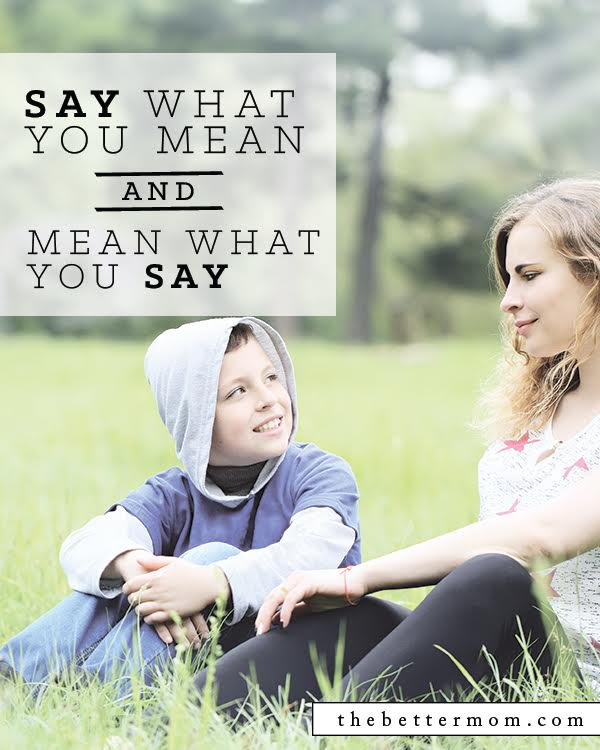 Our children need to know that we say what we mean and we mean what we say - because they thrive within consistent and enforced boundaries. We have a simple way to help moms remember this! It is called the R&R principle and we are sharing all about it today!!