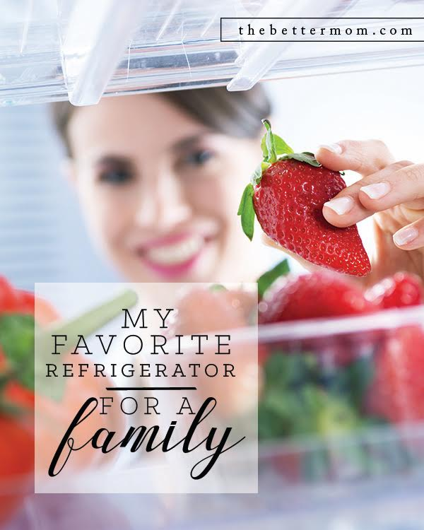Are you looking for a new refrigerator?? I am sharing my very favorite one for a family!