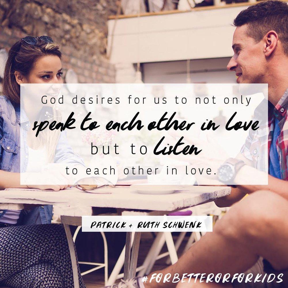 Listen in Love Quote