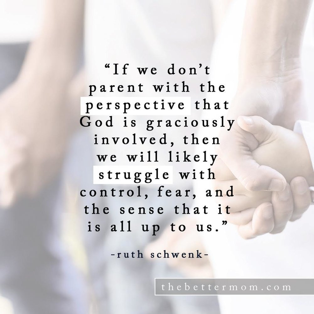 Parent with Perspective Quote
