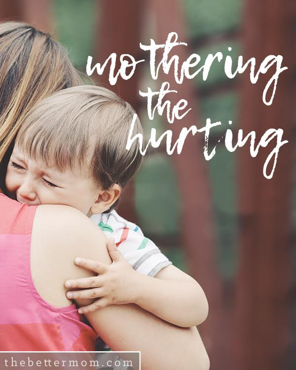 Is your child hurting? Beneath anger or defiance, there might just be a scared soul who needs your comfort and assurance. If your child has experienced trauma or just the rumble and tumble of typical childhood, there are a few things to keep in mind to help you address their true need.