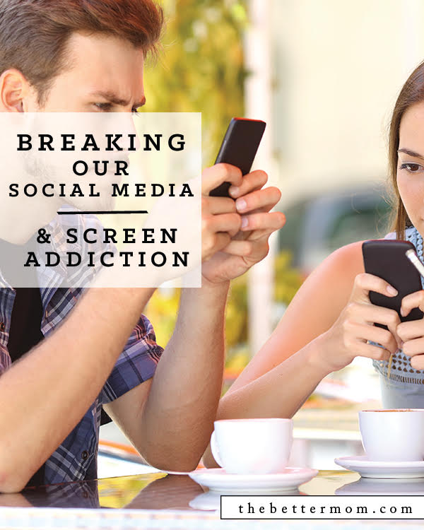 Are you allowing social media to control you? Do you have a hunch you might be? Time on the internet is an addictive and mood alternating experience and it is so important that we understand its risks and dangers. For ourselves and for our kids, let's kick the habit and get healthy.